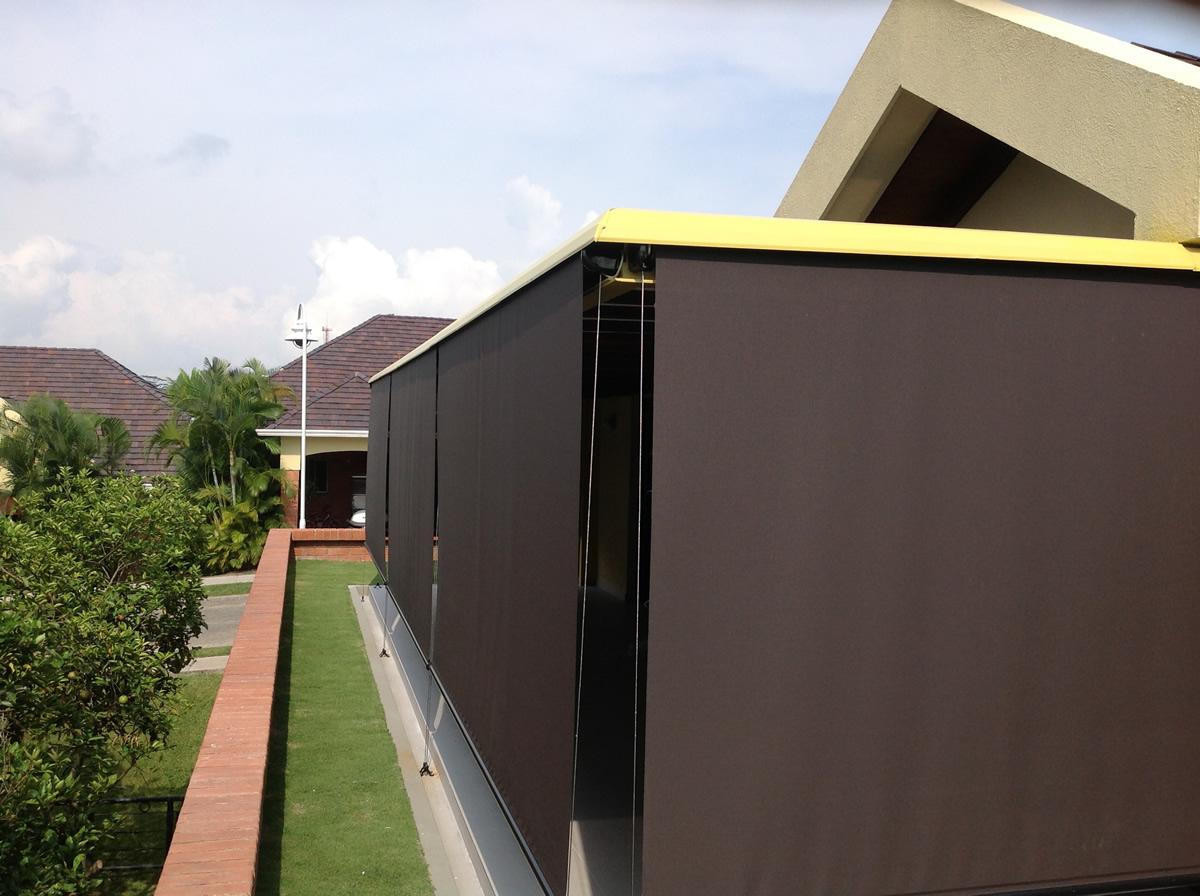 Cortiambientes persianas toldos y cortinas bucaramanga colombia - Toldos verticales para exterior ...